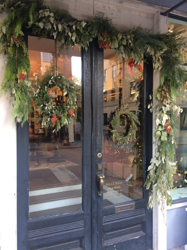 A festive Charleston storefront as photographed by Susan Currie Design