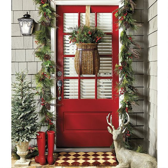 Adding a Little Holiday to your Front Door Decor | Susan ...